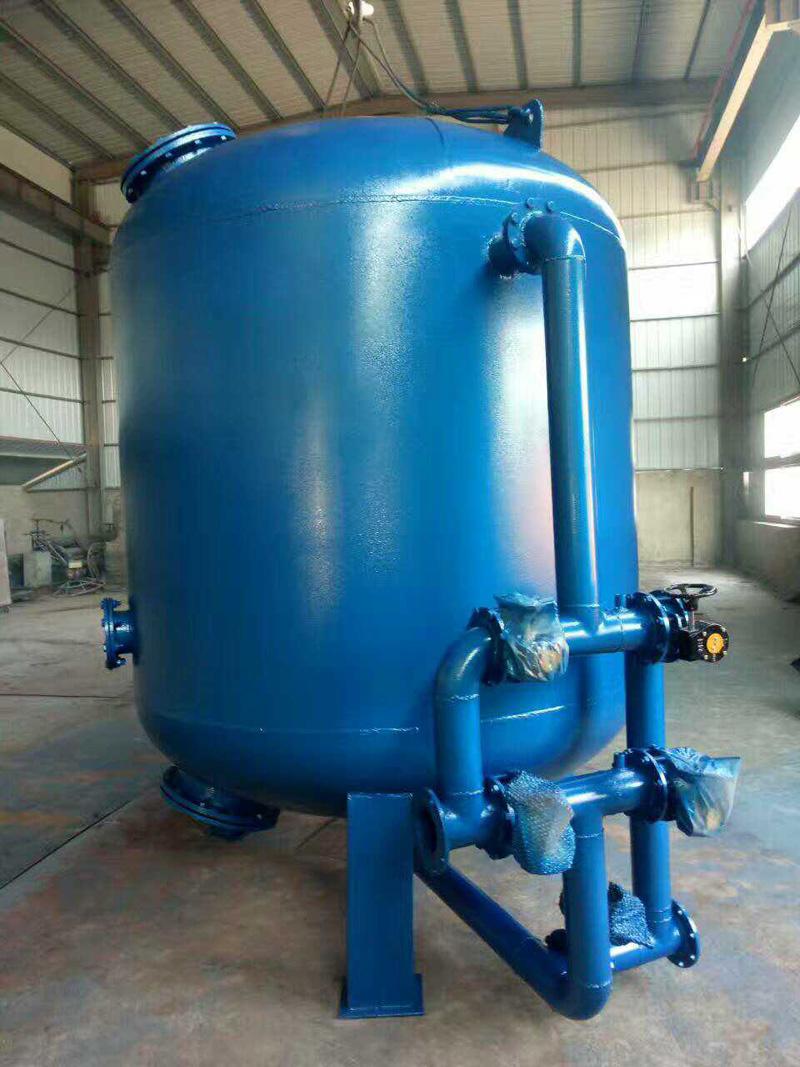 直到两者达到新的平衡,水停止从气囊挤压回系统,水罐起到调节系统压力